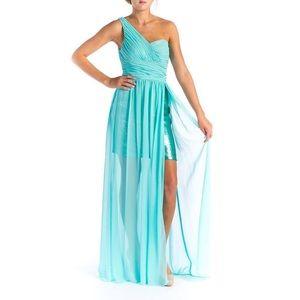 Turquoise Aqua Dress